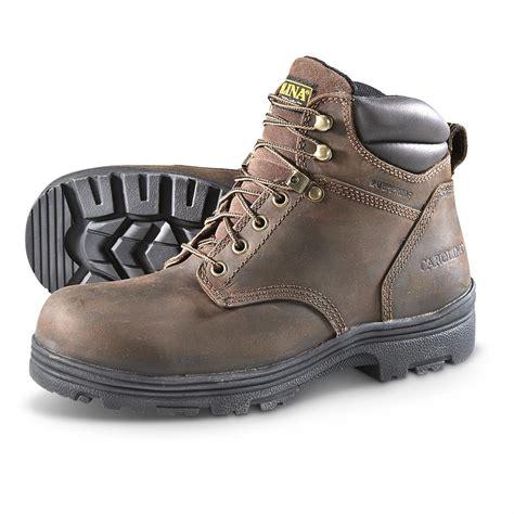carolina shoes carolina s waterproof work boots 645625 work boots