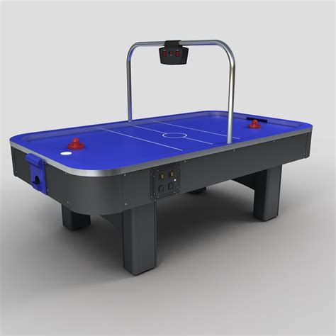 arcade air hockey table arcade air hockey table 3d model