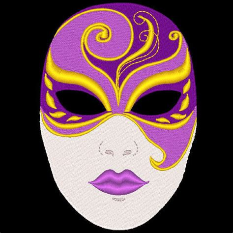 design for mask fantasy carnival masks 36 machine embroidery designs