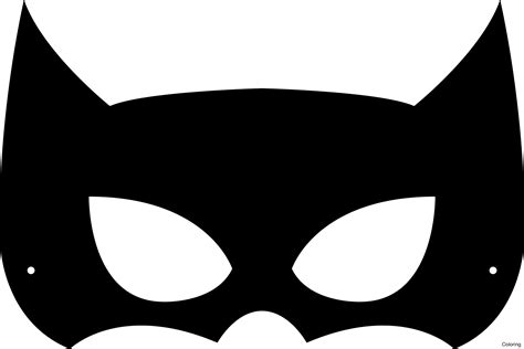 batman mask template batman mask template free clip carwad net