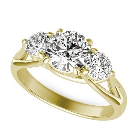 Three Engagement Ring by Trellis Three Engagement Ring Sku Rd0409