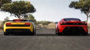 Lamborghini F430 Lamborghini Gallardo Vs F430 Car List