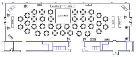Backyard Wedding Floor Plan Wedding Floor Plans City Catering Event Venue