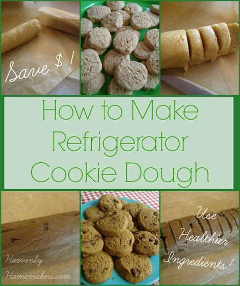 how to make refrigerator cookie dough save money and use