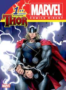 best marvel comics thor brings the thunder in the new marvel comics digest