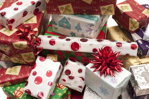 photo  pile  decorative colorful christmas gifts