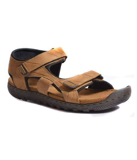 woodland leather sandals woodland camel brown leather sandals buy woodland camel