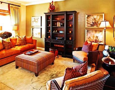 warm colors living room interior design ideas with calm cozy thanksgiving decorating ideas living room makeover