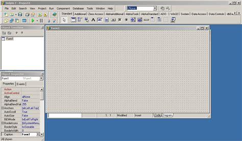 tutorial delphi 6 pdf tutorial memunculkan form dan menyembunyikan form di