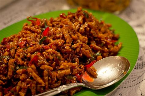 Purwoceng Kering 100 Gr fried tempeh in spicy sauce kering tempe recipes original recipes