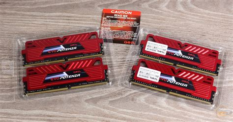 Original Geil Ddr4 Evo Potenza Pc19200 Single Channel 4gb ram kit ddr4 3000 geil ddr4 evo potenza channel gpr416gb3000c16qc 16 gb review and