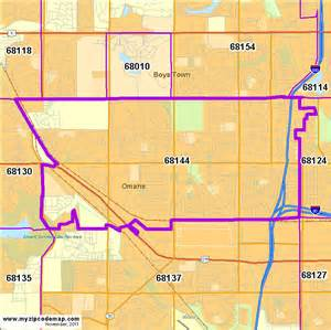 Omaha Zip Code Map by Zip Code Map Of 68144 Demographic Profile Residential