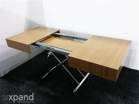 expand furniture transforming box coffee to dining table expand furniture