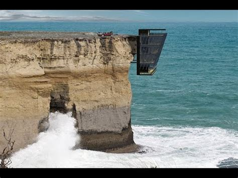 house on side of cliff concept house is pinned to the side of australian cliff with unrivalled views of the