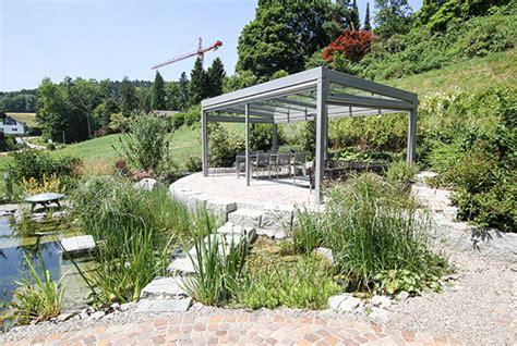 Alu Pavillon Mit Glasdach by Massgeschneiderte Pergola Und Pavillon Im Garten