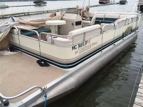 used pontoon boats under 5000 1997 pontoon boat boats for sale