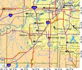 johnson county map johnson county kansas detailed profile houses real