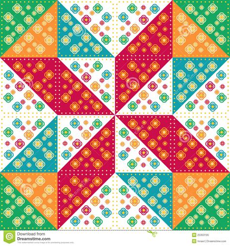 Patchwork Pattern - patchwork royalty free stock photo image 25353195
