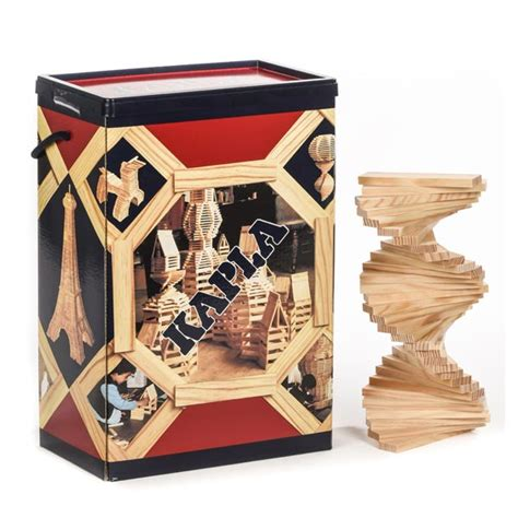 buitenspeelgoed speelplaats baril 200 planchettes kapla king jouet lego
