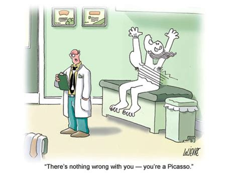 picasso jokes doctor office quotes quotesgram