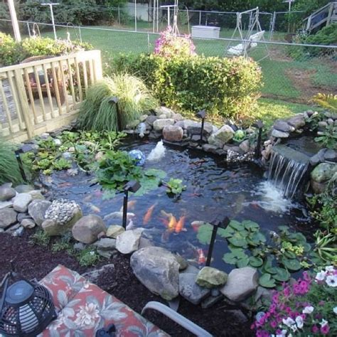 Backyard Coy Ponds by Backyard Coy Ponds Outdoor Furniture Design And Ideas
