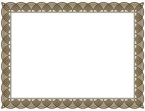 Borders Template by 20 Printable Certificate Borders Blank Certificates