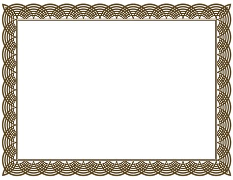 20 printable certificate borders blank certificates