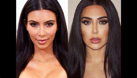 celebrity arabic instagram instagram la doble de kim kardashian que causa furor en