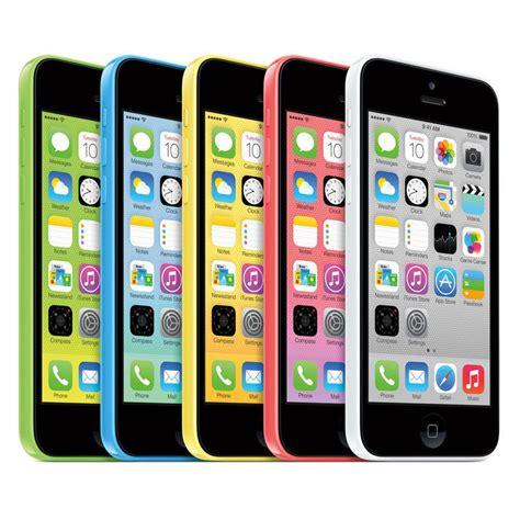 Apple Iphone 5c 16gb Gsm 4g Lte Bisa Semua Sim Card Mulus apple iphone 5c 16gb quot factory unlocked quot 4g lte smartphone ebay