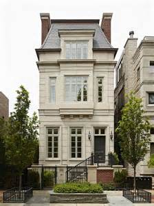 home exteriors french chateau white brick home exterior with glass palladian windows and