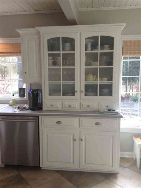 kitchen kitchen hutch cabinets antique hutch with glass