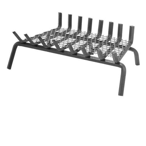24 Fireplace Grate by 24 5 Quot Pilgrim Seven Bar Steel Fireplace Grate 6 Inch