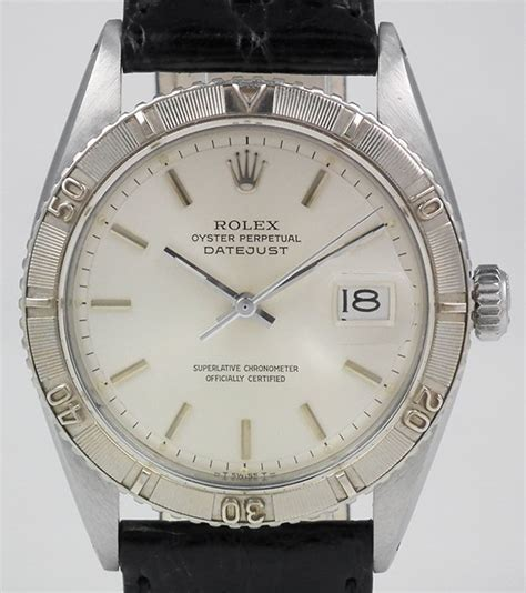 Rolex Detik Bawah White Silver Cover Black rolex oyster perpetual datejust turn o graph 18k ss silver 1625 1958