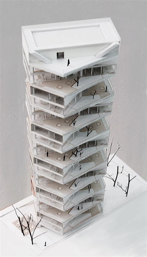 Interested In Architecture Writhing Tower By Lycs Architects