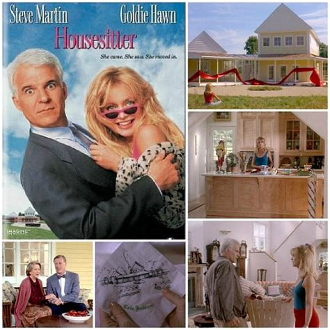 the house sitter movie steve martin s yellow house in the movie quot housesitter quot