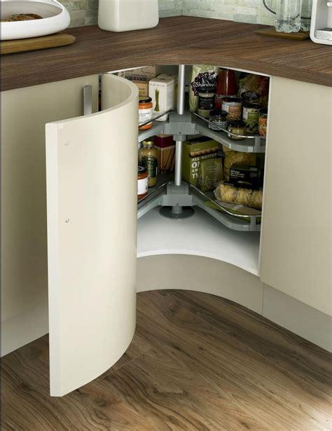 Corner Unit Kitchen Cabinet Concave Curved Base Unit With Premium Corner Carousel New Kitchen Ideas Pinterest Concave