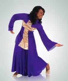 Liturgical dress 44 25 592 asymmetrical bell sleeve dress