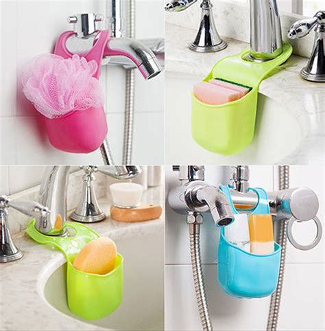 sponge holder for kitchen hanging strainer drainer organizer storage sponge