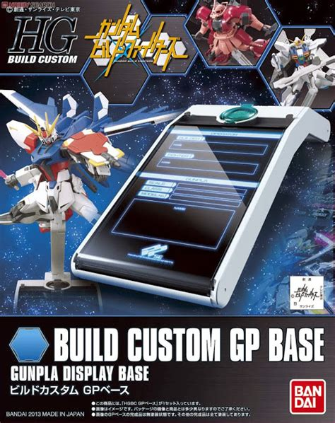Standbase Hg Standar Custom gundam build fighters hg build custom 1 144 custom build gp base gundam kits collection