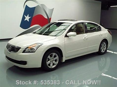 where to buy car manuals 2009 nissan altima parking system buy used 2009 nissan altima 2 5 sl sunroof heated leather 37k mi texas direct auto in stafford