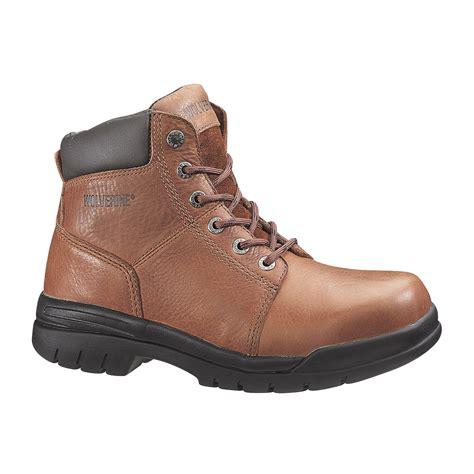 wolverine 6 quot marquett slip resistant steel toe boot
