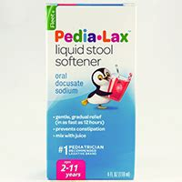 Side Effects Of Stool Softeners Term by Pedia Lax Liquid Stool Softener Docusate Sodium Dosage