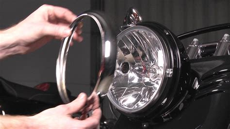 Goon Slim L how to install a headlight on a harley davidson by j p