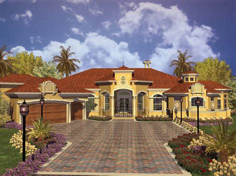 Spanish Style Home Designs Key West Spanish Style Home Plan 106s 0012 House Plans