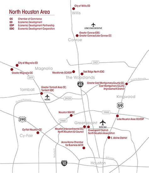 houston economic map houston economic development