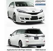 Toyota Wish 09 G&ampX Spec Admiration End 7/5/2017 1204 AM