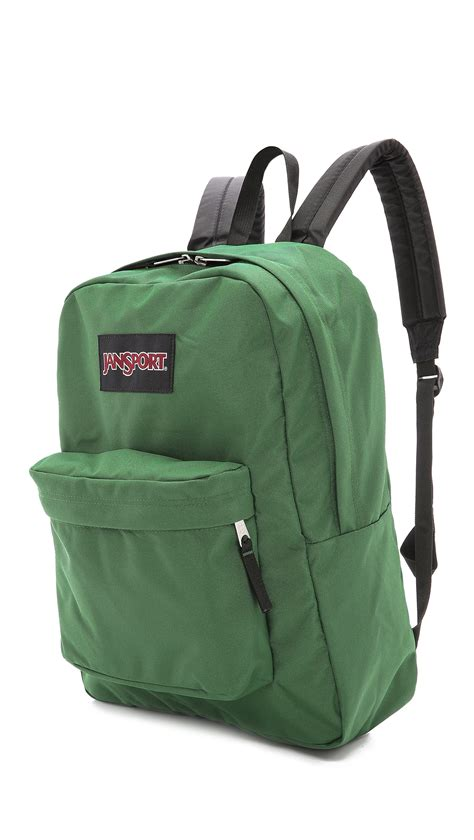 Tas Jansport Black Label jansport black label superbreak backpack in green for lyst