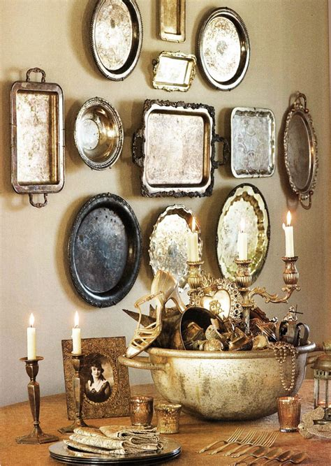 Wall Decoration Vintage high quality vintage wall decor 1 you want to hang them using large plate hangers i how it