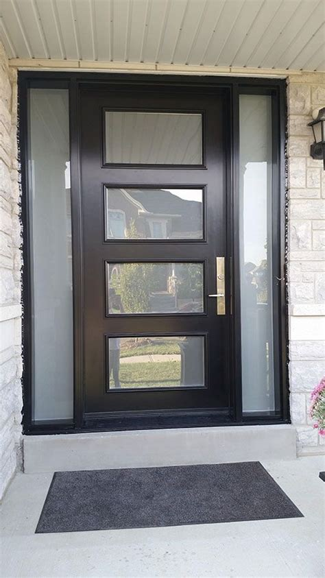 exterior modern doors 25 best ideas about modern exterior doors on pinterest
