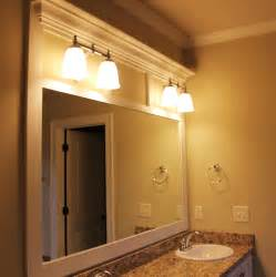 custom framed bathroom mirror framing bathroom mirrors